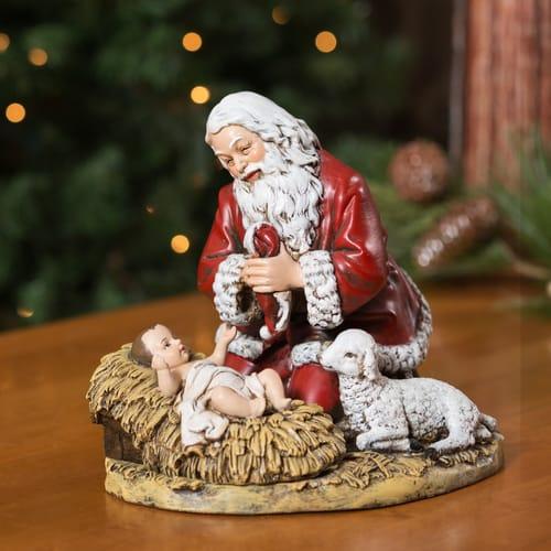 Kneeling Santa Figure 8