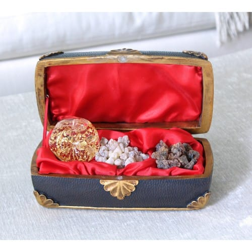 Gold, Frankincense & Myrrh Music Box
