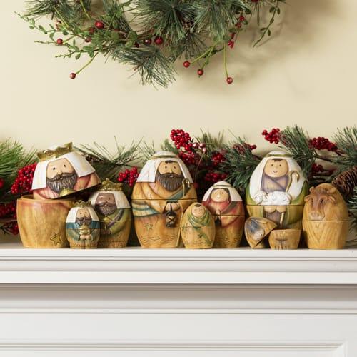 Nativity Nesting Dolls Set