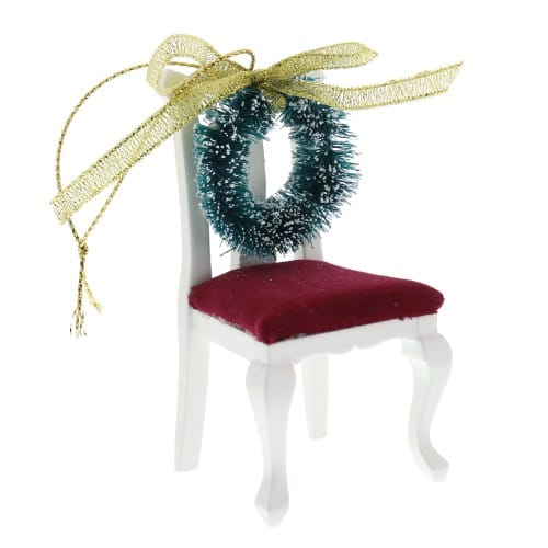 Chair And Wreath Memorial Ornament The Catholic Company