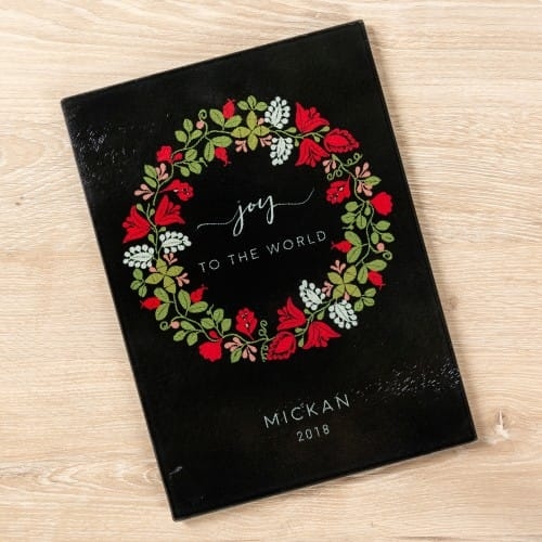 Cutting Win Personalized Board Christmas