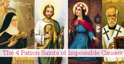 The 4 Patron Saints of Impossible Causes