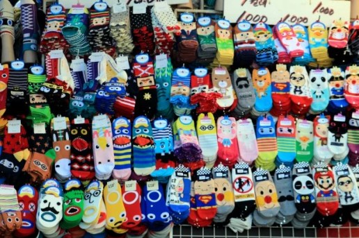 cheap sock prices in Korea!