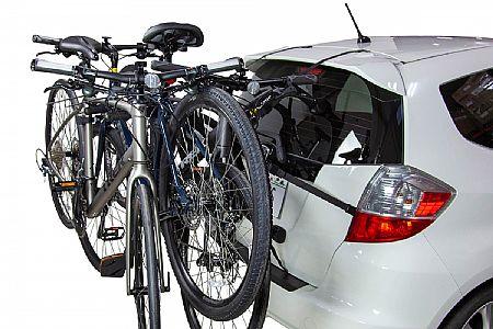 saris bones ex 3 bike trunk rack 803 at trisports