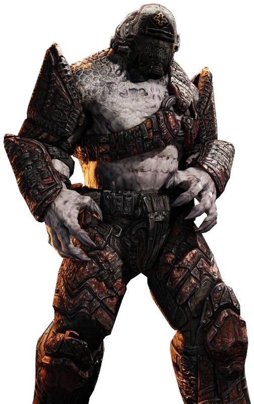 E3 2011 Gears Of War 3 Campaign Screenshots