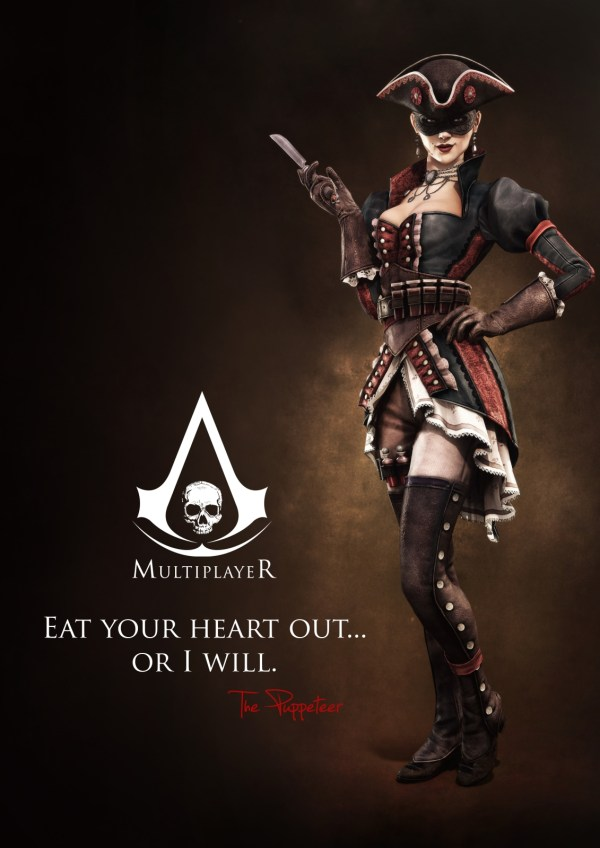 Assassin's Creed IV Reveals Multiplayer Characters
