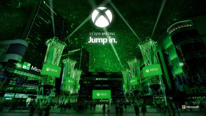 E3 2019 briefing jump in xbox microsoft