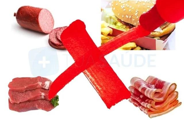 Excesso de carnes vermelhas faz mal