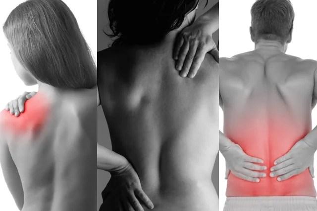 Provável causa muscular de Dor nas Costas