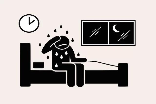 O que pode ser o suor noturno (sudorese noturna) e o que fazer