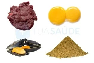 Alimentos ricos em ferro de fonte animal