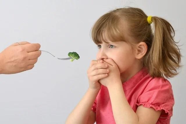 Porque meu filho não quer comer?