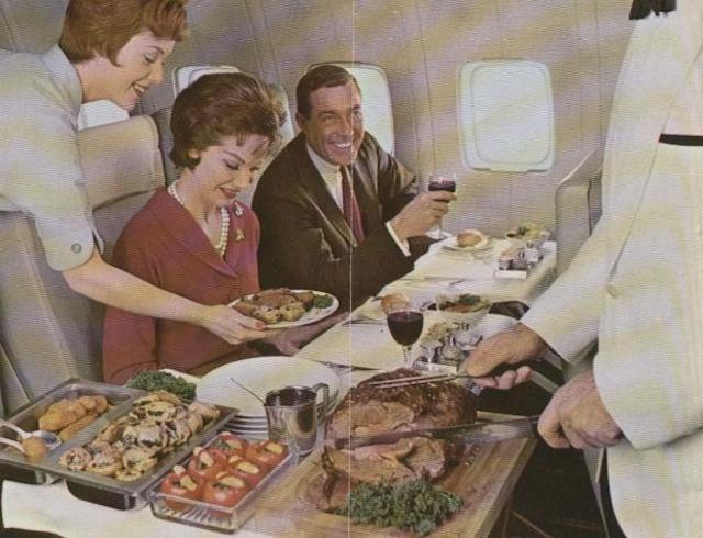 707 da PAN AM - Isso é rodízio ou ceia natalina?
