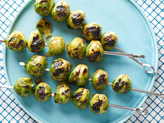 Alton Brown's Grilled Brussels Sprouts As seen on Food Network