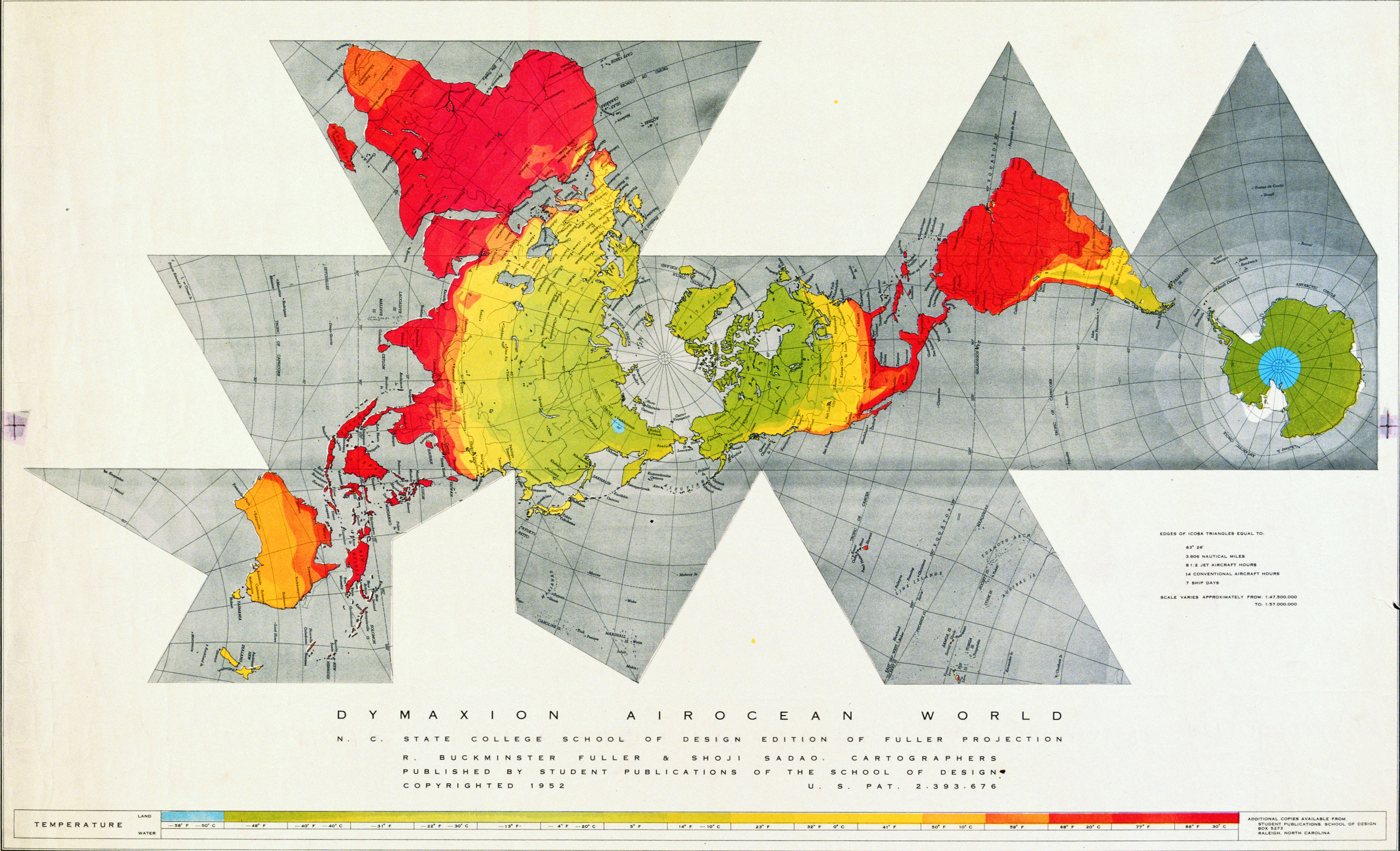 Spaceship earth the world map and what you didnt know dymaxion map created by buckminster fuller accurate in both size and location of all gumiabroncs Gallery