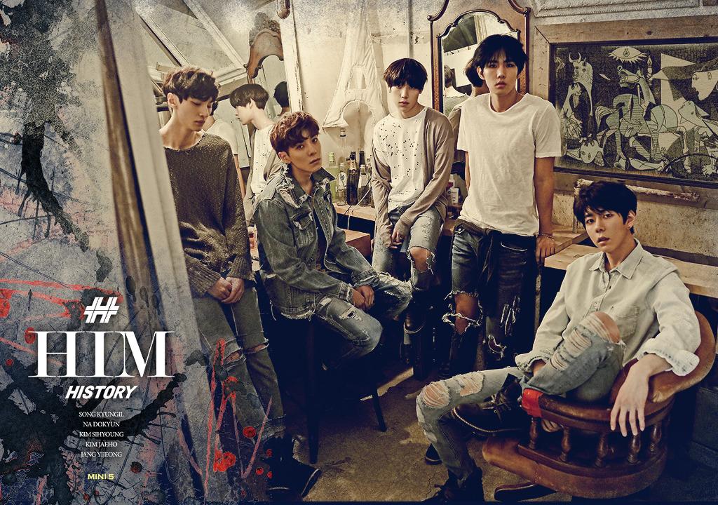 Картинки по запросу history kpop band HIM