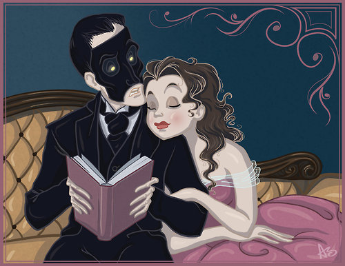 Image result for the phantom of the opera book