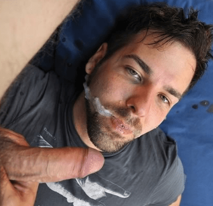 men forced to swallow cum