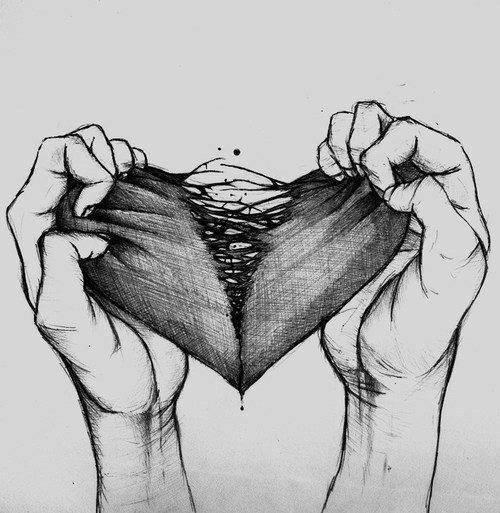 Resultado de imagem para broken heart tumblr