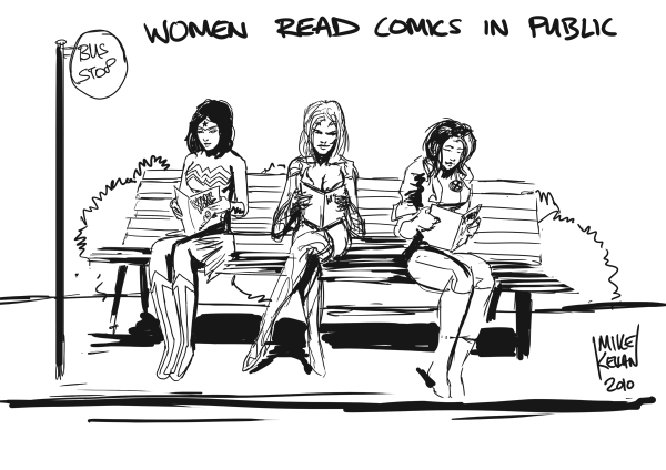 Read Comics in Public