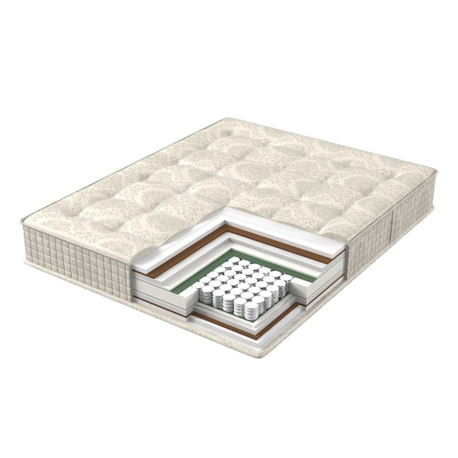 Model Mattress Structure Bed