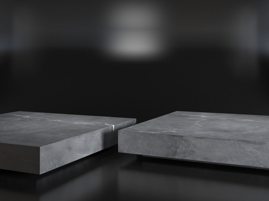 marble plinth square coffee table 3d model turbosquid 1162180
