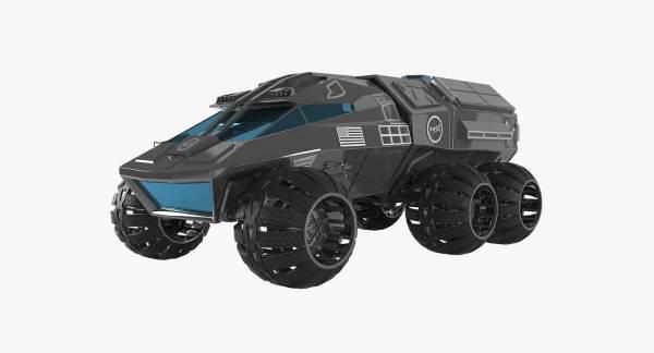 3D model nasa mars rover - TurboSquid 1175579