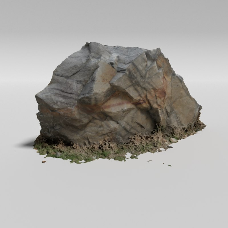 Granite rock 3D model - TurboSquid 1187139 on Granite Models  id=81890