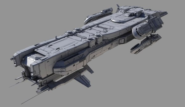 3D spaceship - TurboSquid 1208974