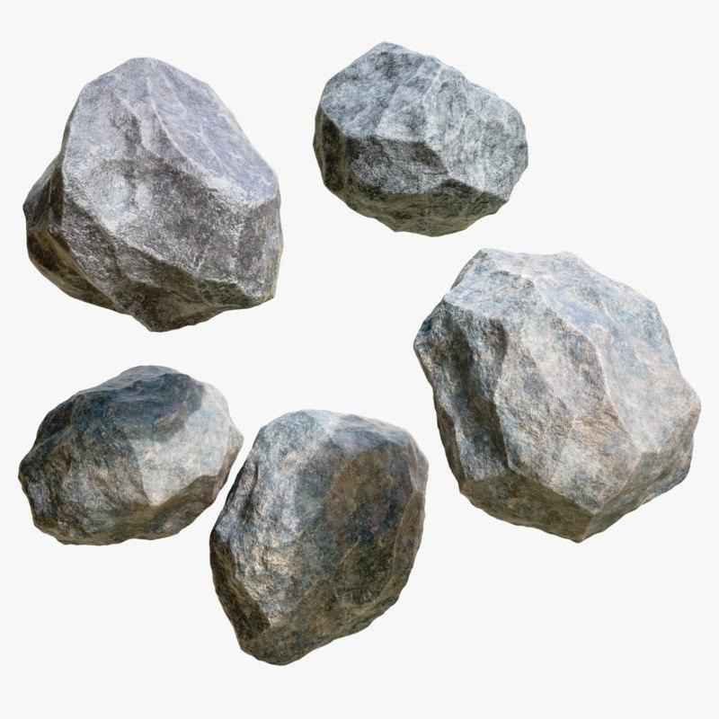 4k stone 3D model - TurboSquid 1223287 on Granite Models  id=66707