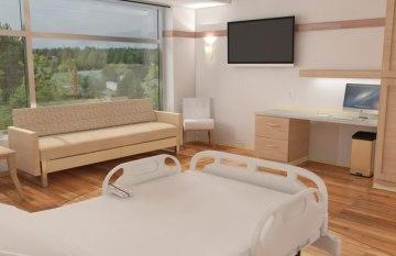 3D Model Hospital Interior Designs   Interior Design Images