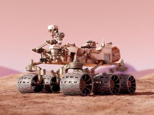 Nasa curiosity rover mars 3D model TurboSquid 1230066