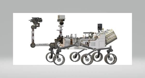Mars curiosity rover 3D model TurboSquid 1238384