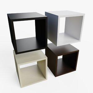 Tutte le mensole hanno profondità 14,5 cm. Blender Bookshelf Models Turbosquid
