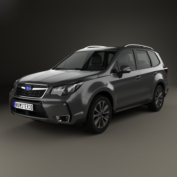 subaru forester touring 3D model