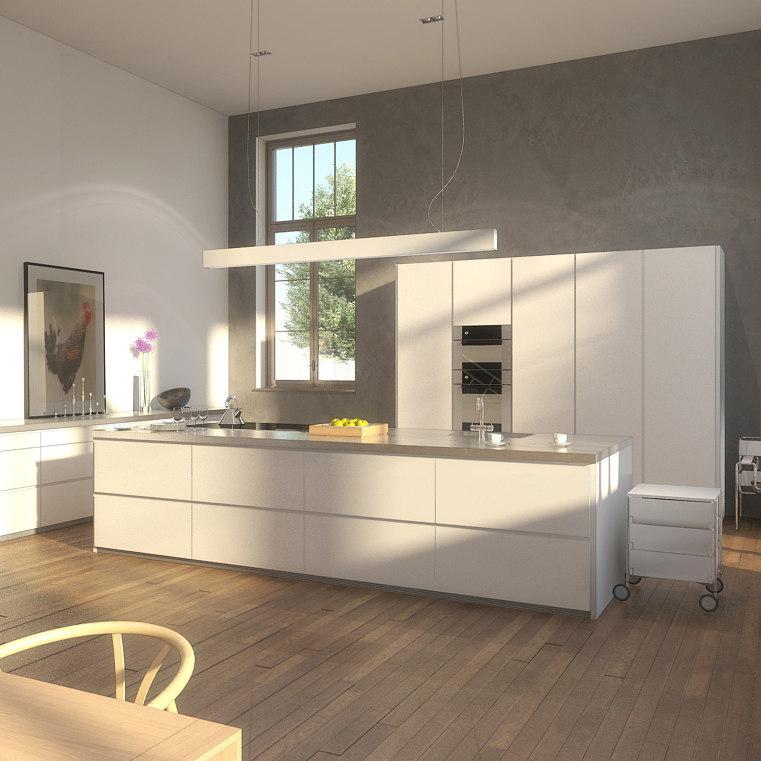 3ds max modern kitchen on Modern Model Kitchen  id=72594