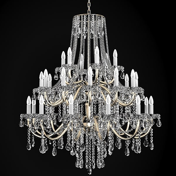 Chandelier Classic Crystal Model