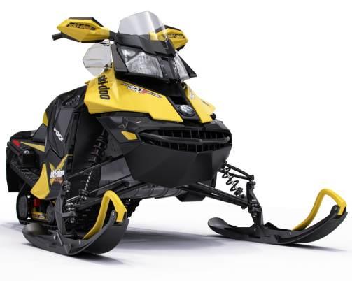 3d snowmobile ski-doo mx z model