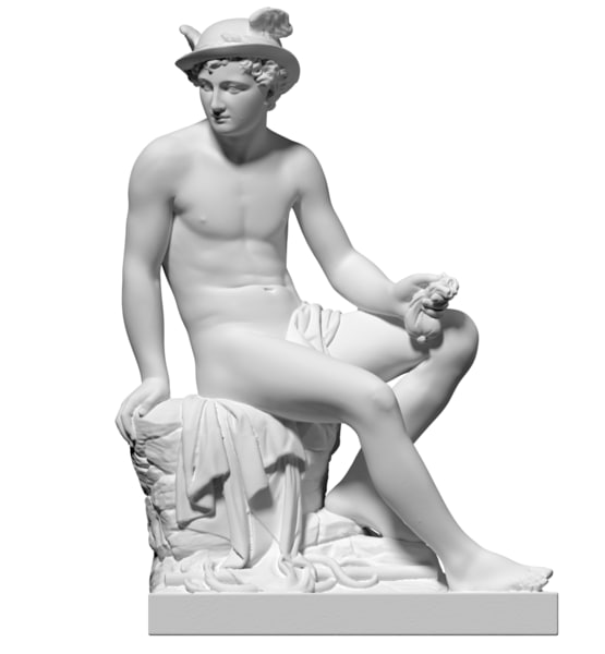 free obj mode scan statue mercury