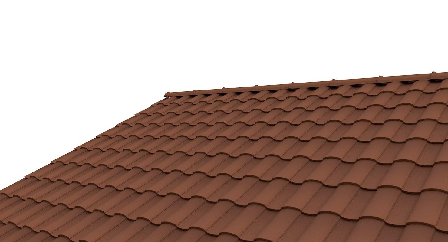 roof tile 2 3d model on Tile Models  id=88156