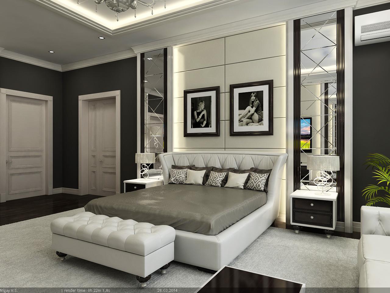 interior - master bedroom 3d model on Model Bedroom Design  id=15814