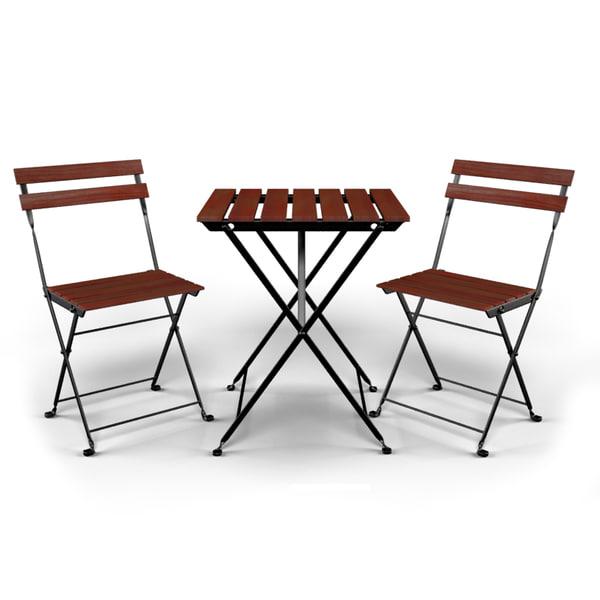 Anche in ikea gli acquirenti possono conoscere le buone offerte, in modo che il prodotto ha una buona domanda e questo sito diventa uno dei più. Modello 3d Tavolo E Sedia Da Esterno Ikea Tarno Turbosquid 988759