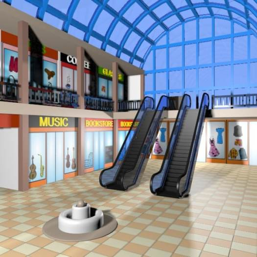Image result for mall  cartoon