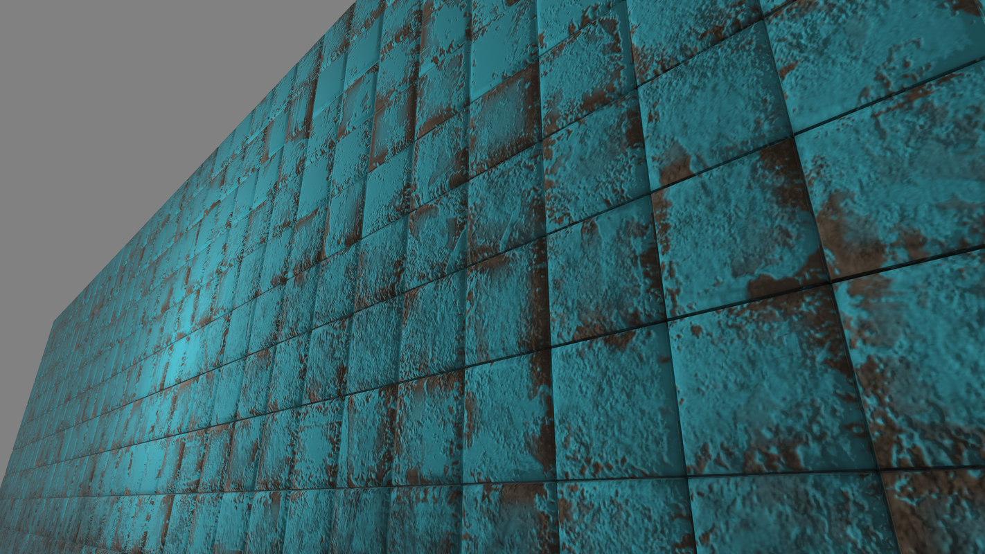free old tile 3d model on Tile Models  id=93866