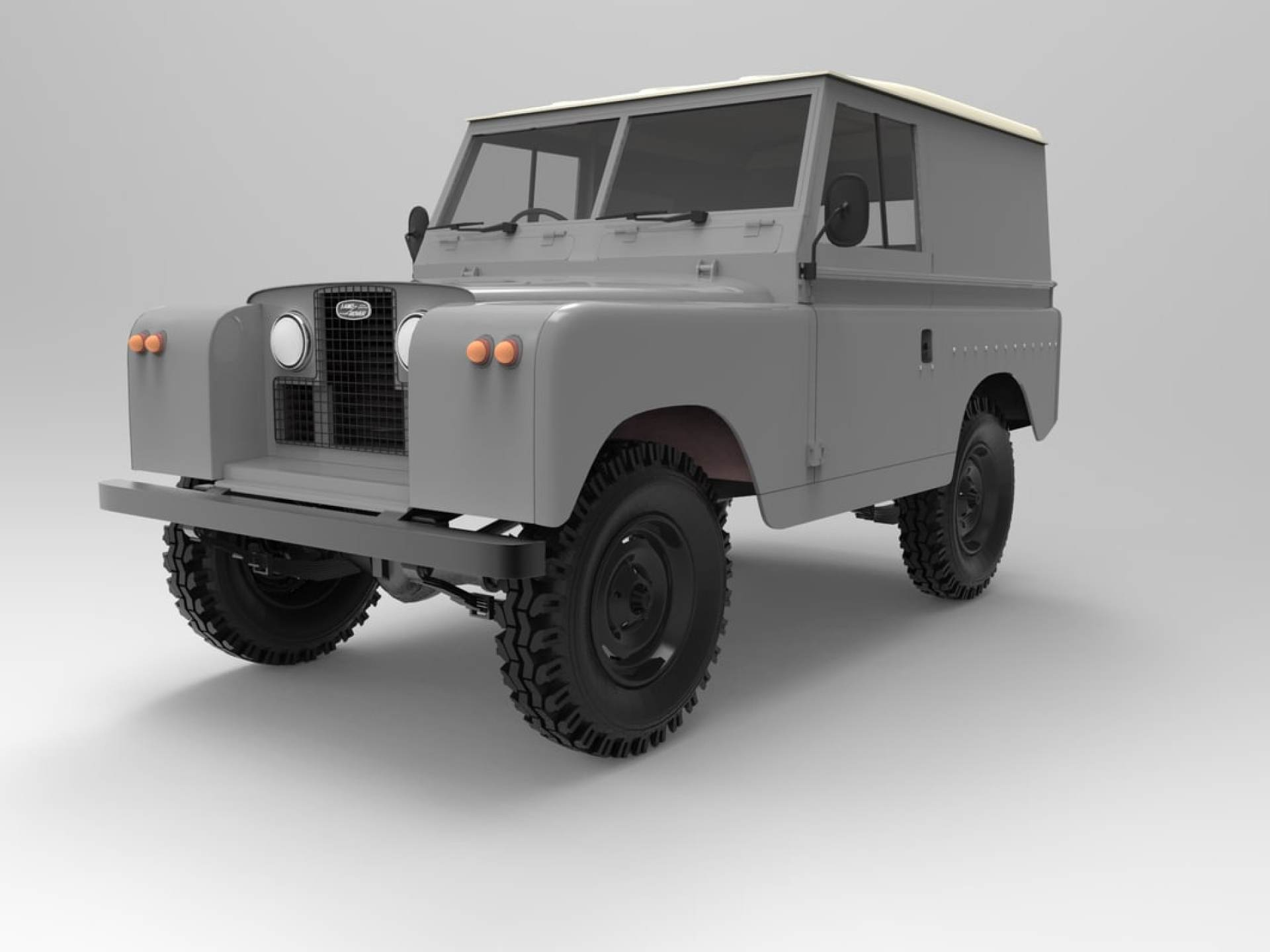 model land rover series 2