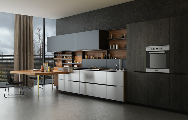 Kitchen 3D Models for Download | TurboSquid on Model Kitchens  id=30298