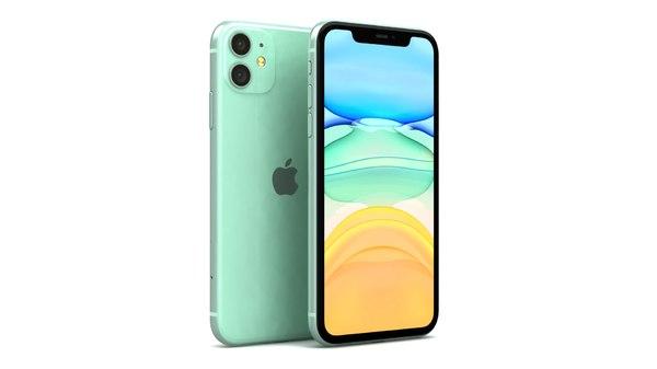Apple iPhone 11 Verde Modelo 3D - TurboSquid 1456479