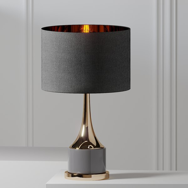 table lamps artistic home 3d turbosquid 1556044