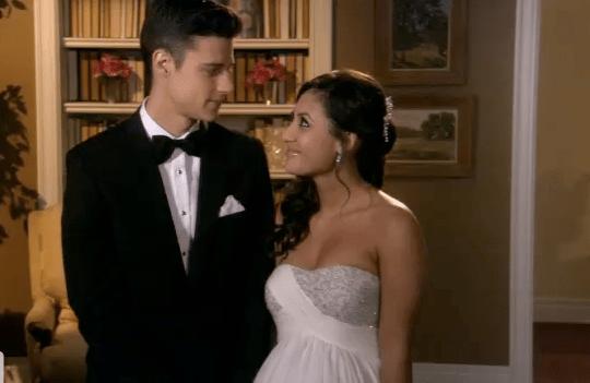 Secret life ben and adrian wedding