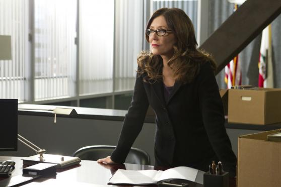Captain Raydor, aka Mary McDonnell